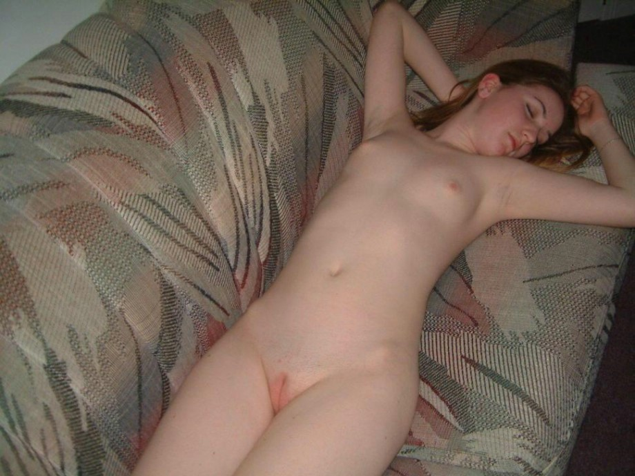 This rather Teen girl sleeping in the nude